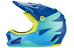 bluegrass Brave Fullface-Helmet blue/green